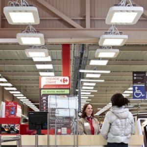 Installation Echy dans un supermarché. (Crédit : Echy)