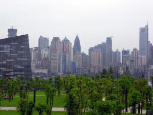 La ville de Chongqing. (Crédit : Suez Environnement)