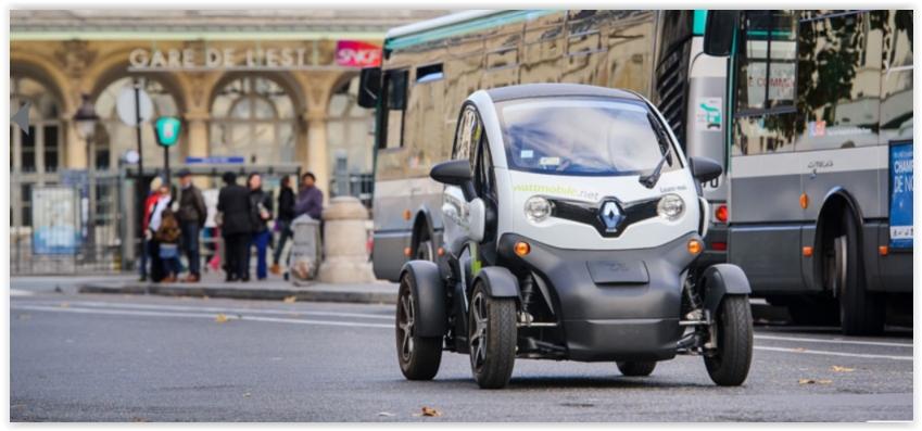Wattmobile permet de louer des véhicules électriques au départ de 13 gares en France