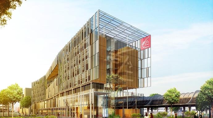 Le Green Office de Bordeaux doit être livré en 2016. (Crédit : Bouygues Immobilier)