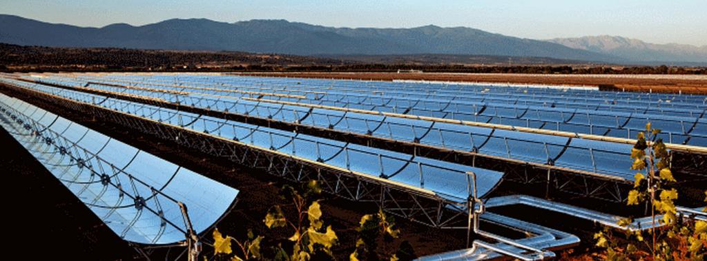 Centrale CSP de Ouarzazate (Maroc) (Crédit : Acwa Power)