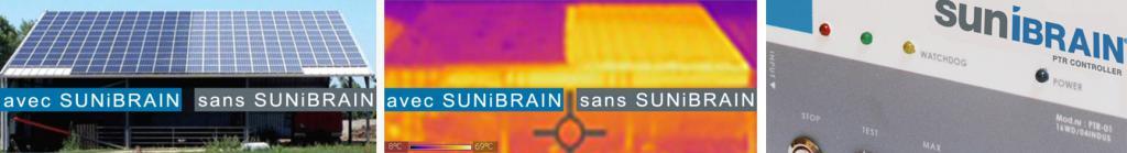capture d'écran site internet de SUNiBrain