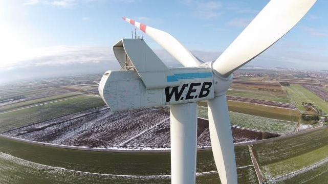 (Crédit : W.E.B. Windenergie)