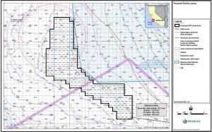 Zone identifiée par Trident Winds