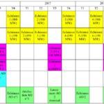 calendrier AO