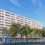 le site résidentiel de Clichy rue Léon Blum