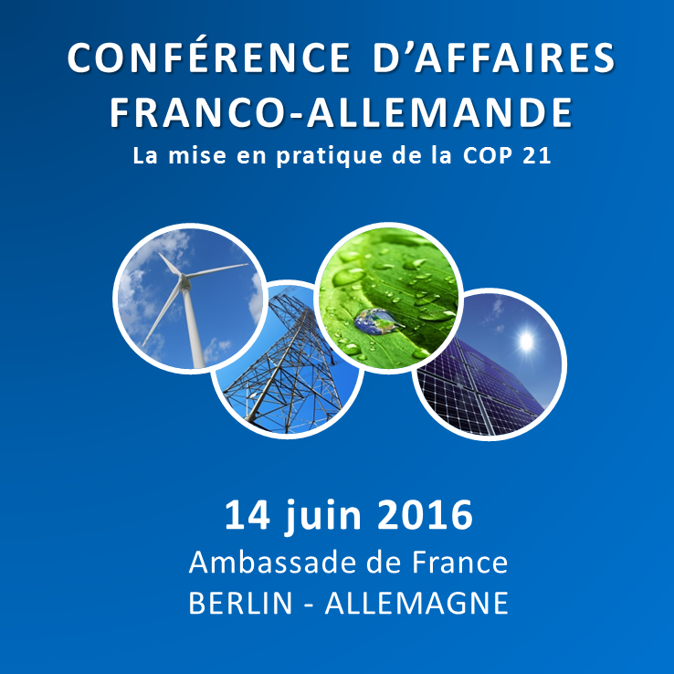 Conférence d'affaires franco-allemande 14 juin