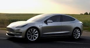 Model 3 (Crédit : Tesla)