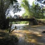 amont du pont