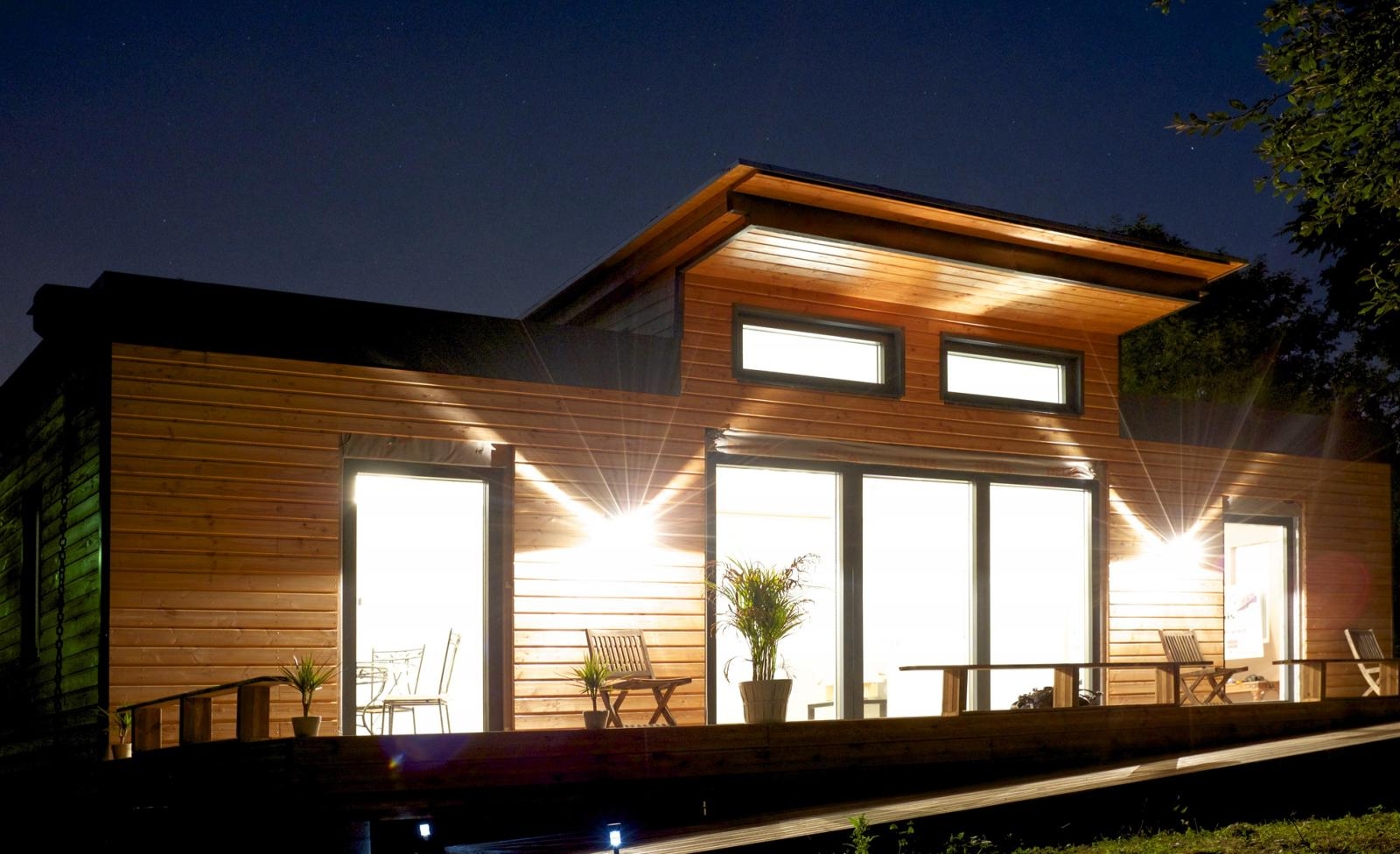 laur at ademe ecoxia peaufine la maison passive pr te poser greenunivers. Black Bedroom Furniture Sets. Home Design Ideas