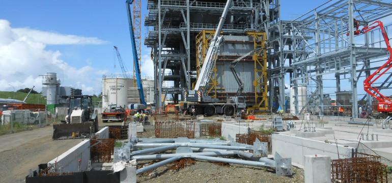 Galion 2 en construction (Crédit : Albioma)