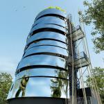 Brest inaugure un stockage d'eau chaude version grand large