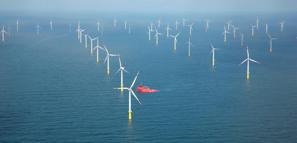 Parc éolien de Butendiek (Crédit : Anne-Claire Poirier)