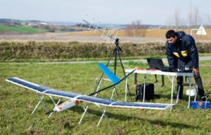 Drone solaire de Sunbirds (Crédit : Sunbirds)