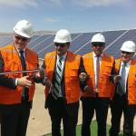 Au Chili, EDF inaugure une centrale PV de 146 MW et se lance dans l'éolien