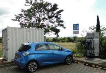 Renault recycle ses batteries dans des bornes de recharge