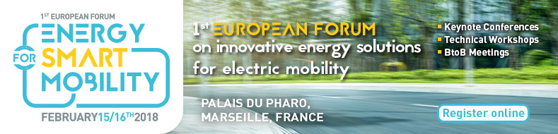 1st European Forum - Energy for Smart Mobility