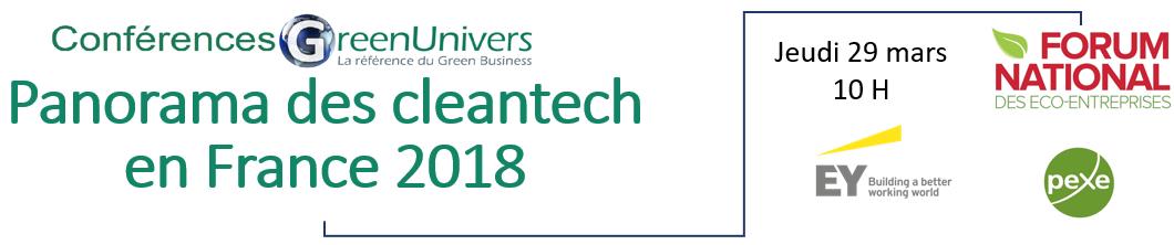 Panorama des cleantech en France 2018