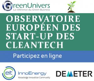 Observatoire européen des start-up des cleantech