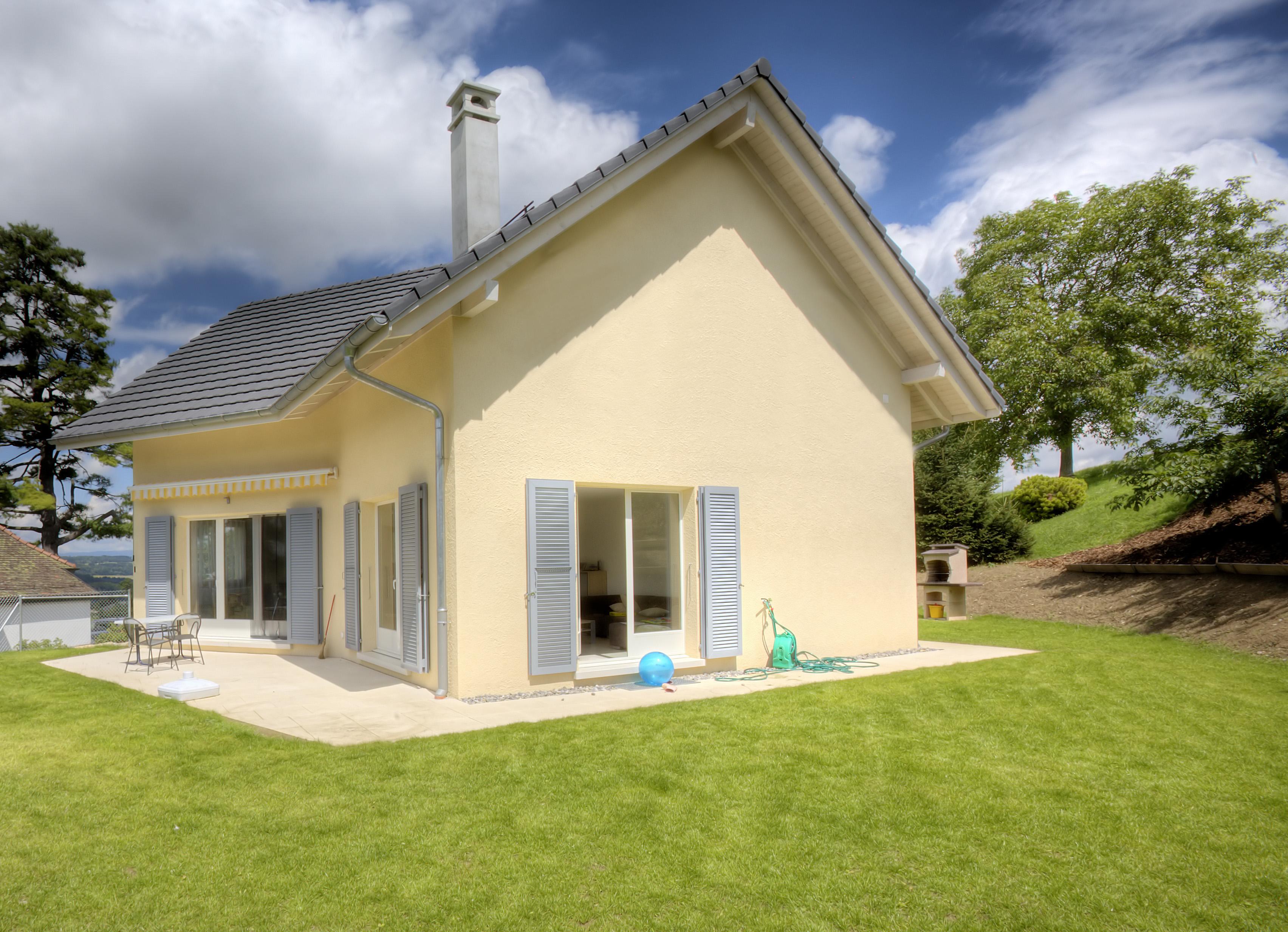 Maison avec combles greenunivers for Comble maison