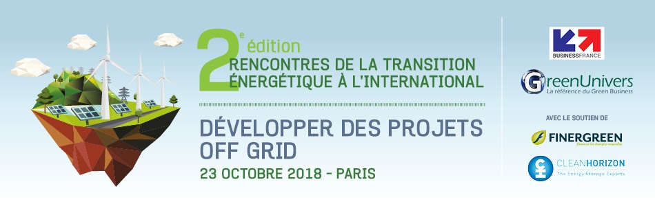 2e édition Rencontres de la transition énergétique Développer des projets off grid
