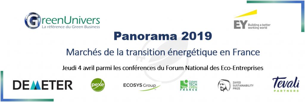 Panorama 2019 Les marchés de la transition énergétique en France