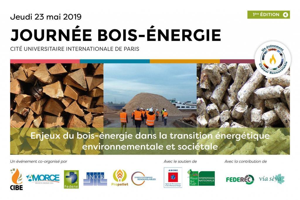 Journée Bois-Energie 23 mai Paris
