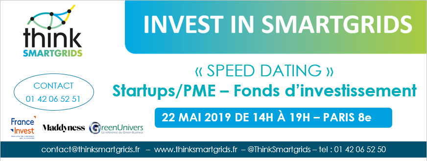 """Speed dating"" Invest in Smartgrids"