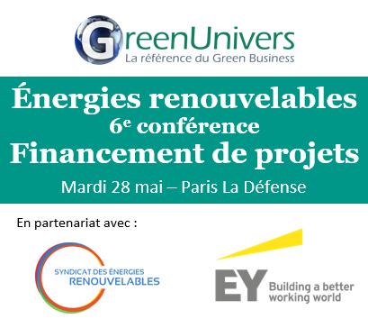 6e conférence Financement de projets EnR