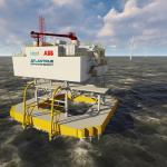 Floating substation