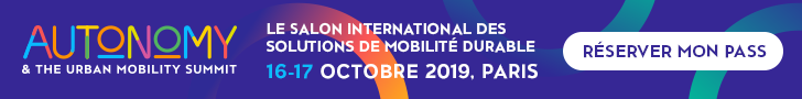 Autonomy & the Urban Mobility Summit / 16 & 17 octobre / Paris