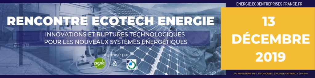 Rencontre Ecotech Energie - Pexe - 13 décembre 2019