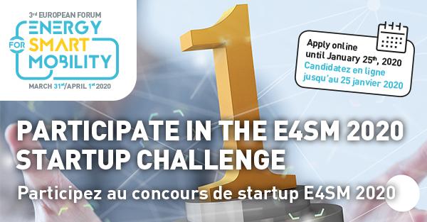Concours Startup E4SM 2020