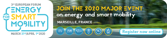 3rd European Forum energy for Smart Mobility 2020