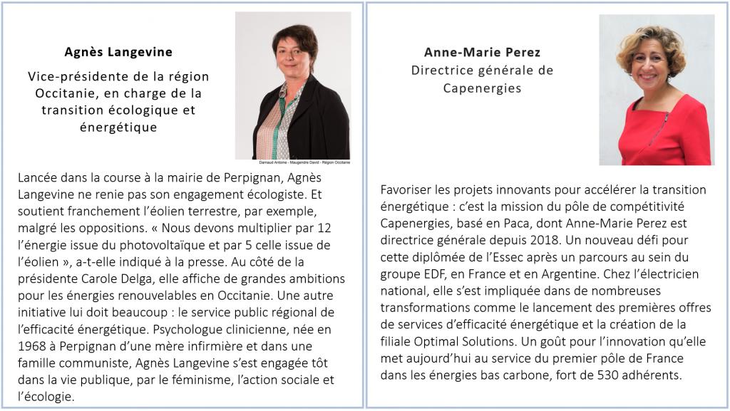 Agnès Langevine & Anne-Marie Perez