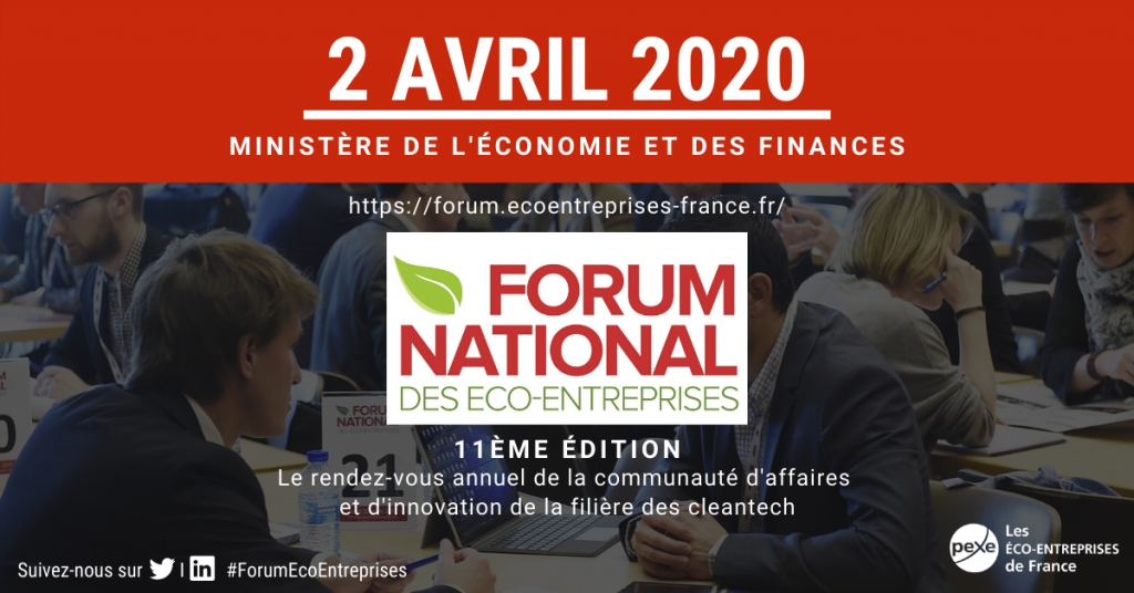 Forum National des Econ-Entreprises 2020 Pexe Paris