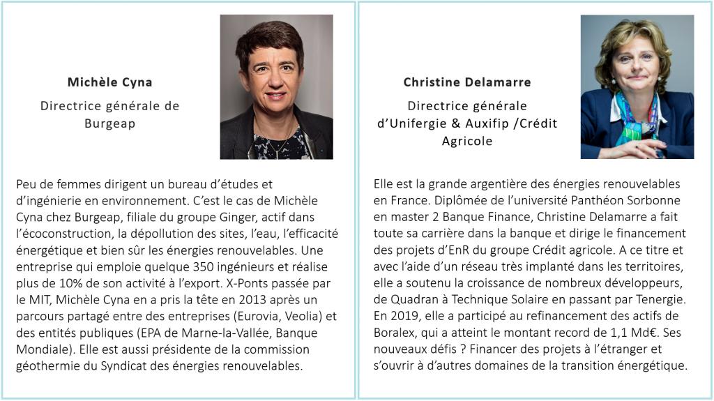 Michèle Cyna & Christine Delamarre