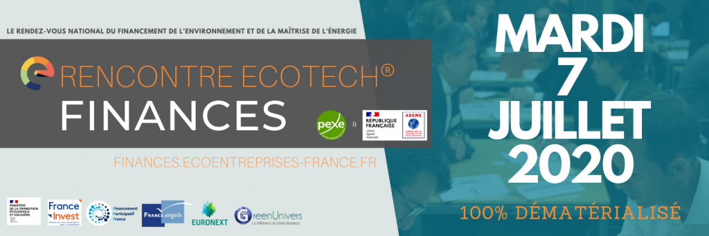 Rencontre Ecotech Finances 07/07/20 Pexe