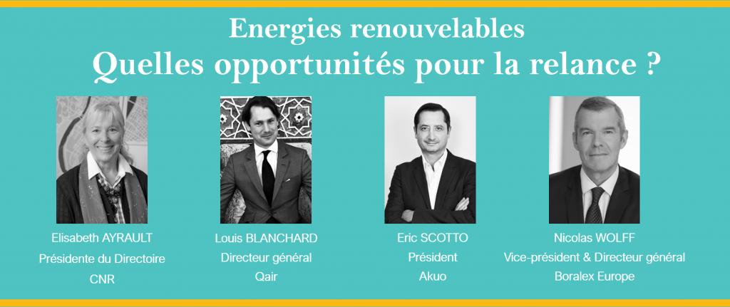 Webinar EnR, quelles opportunités pour la relance ? 10/06/20
