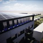 Eolien urbain – La plateforme d'énergie mixte Unéole