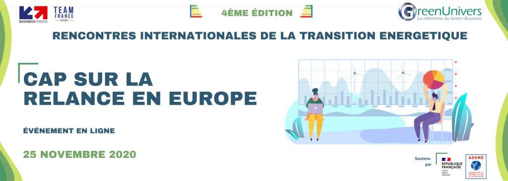 Rencontres Internationales de la Transition Énergétique - Cap sur la relance en Europe