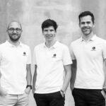 Fondateurs NepTech (g à d Clément Rousset, Tanguy Goetz, Corentin Bigot)