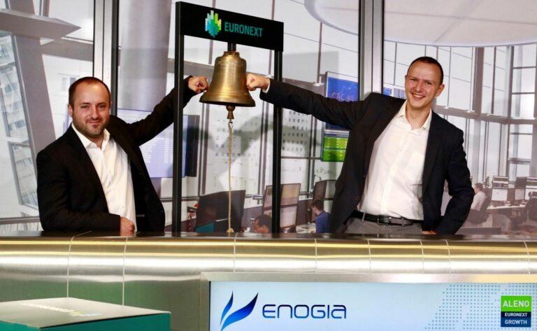 Enogia s'introduit avec succès en Bourse
